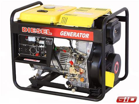 industrial grade portable diesel generator 5000w atv