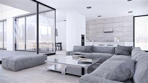 arredamento bianco arredamento bianco e grigio tante idee per una casa di