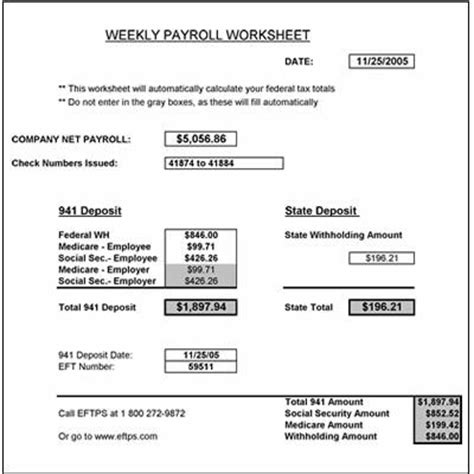 Payroll Worksheet by Free Weekly Payroll Tax Worksheet Worksheets