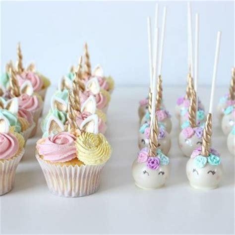 summer camp 2018 unicorn cake pops and cupcake (decorate