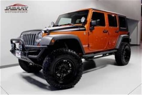 2010 Jeep Wrangler Lift Kit Find Used 2010 Jeep Wrangler Unlimited 4x4 27 418