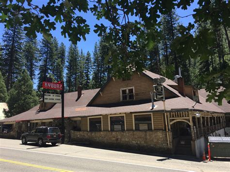 historic kyburz lodge for sale in northern california