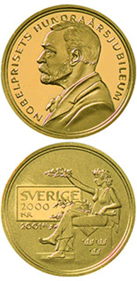 gold coins. the 0 krona coin series from sweden from