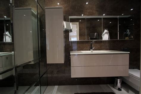 Gloss Bathroom Furniture Fitted Bathroom Furniture In Bespoke Bathroom Cabinets
