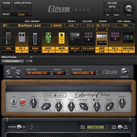 Eleven Rack Forum by Digidesign Eleven Rack Guitarrista