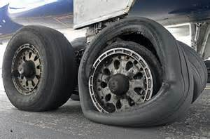 Tires And Wheels Of An Aircraft