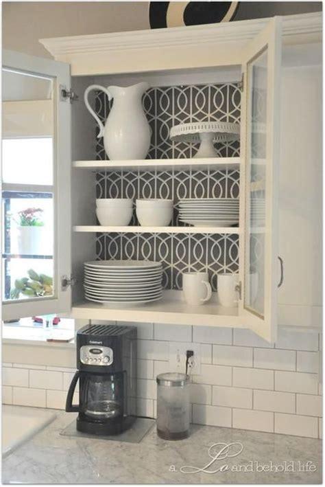 wallpaper cabinets pinterest 25 best ideas about armoire cuisine on pinterest