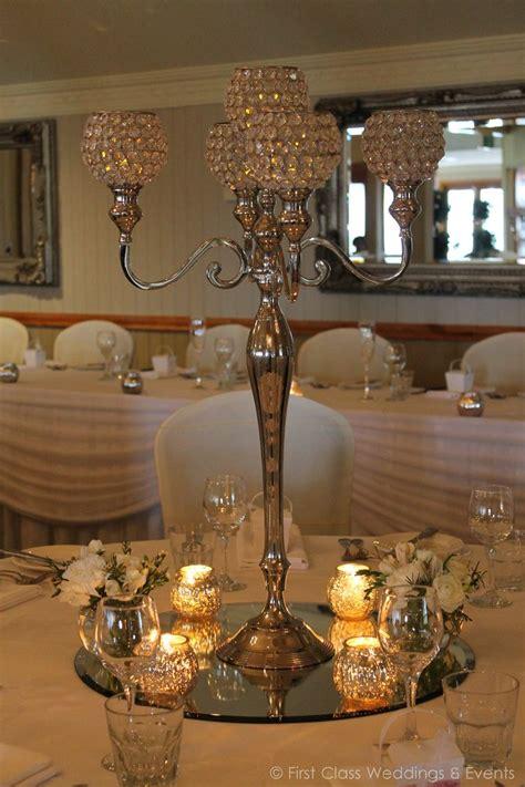 Crystal Candelabra First Class Weddings Events Candelabra Wedding Centerpieces