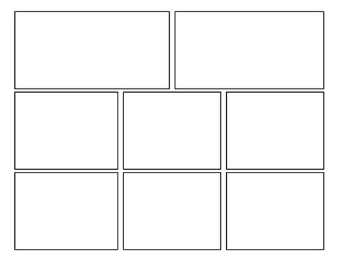 comic template 3rd grade second batch of comic templates