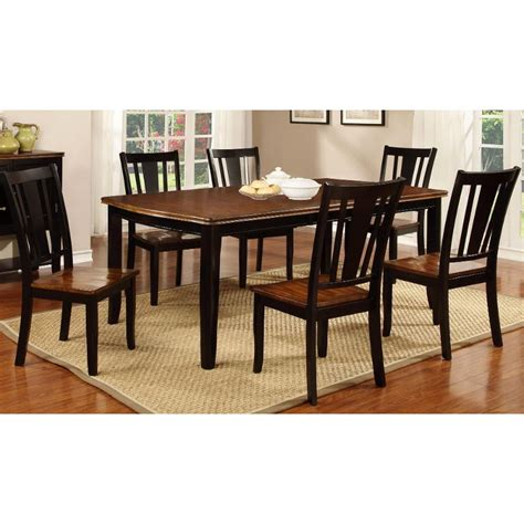 black dining room furniture sets dover black cherry 5 piece dining set
