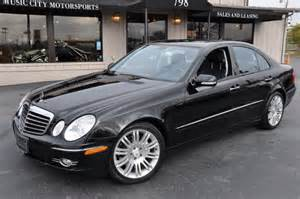 2007 mercedes e class information and photos