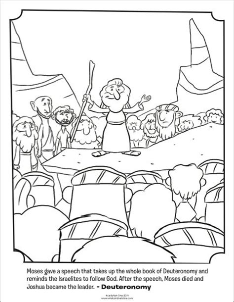bible coloring page water from the rock moses gets water from a rock coloring page murderthestout