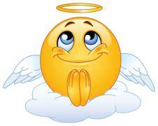 angel emoticon sticker