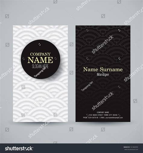 card name template vector name card design template business card stock vector