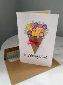 handmade birthday card happy birthday to a wonderful