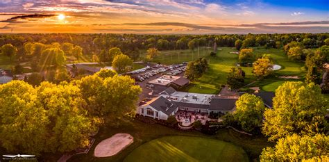 sunset course at country club northton valley country club where to fly drones