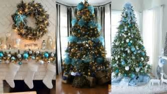 decoraciones para arboles de navidad decoraci 211 n de 193 rbol de navidad azul ideas para decorar