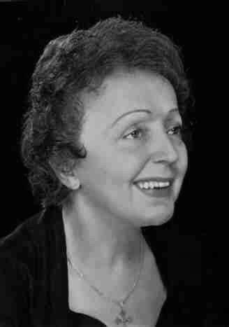 O som da arte: Edith Piaf - Musicografia