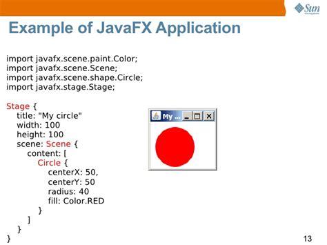 javafx overview 90minutes