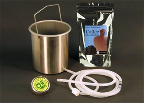 Silicone Detox Protocol by Coffee Kit Large Silicone Colon