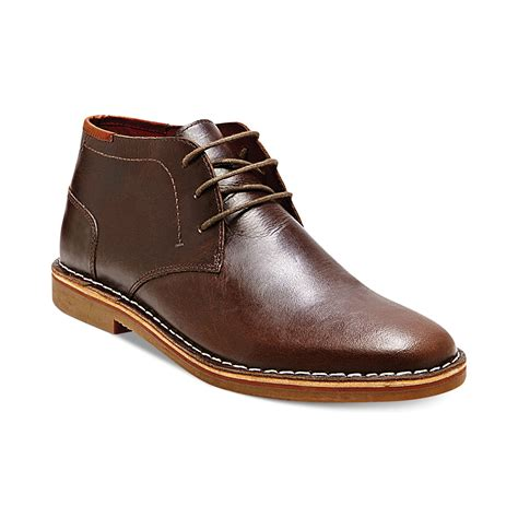 steve madden s boots steve madden harken chukka boots in brown for