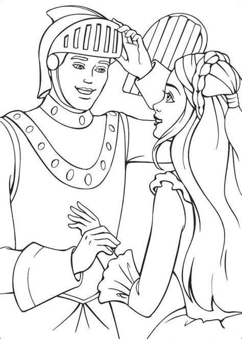 barbie coloring pages princess barbie