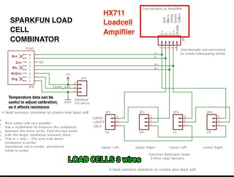 load cell wiring diagrams free wiring