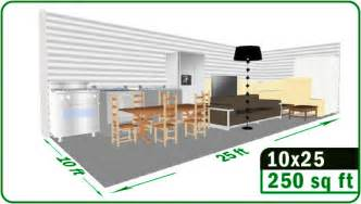 How Large Is 130 Square Feet how big is 250 square feet room rachael edwards