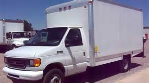 stock 2458 2007 ford e350 box truck for sale
