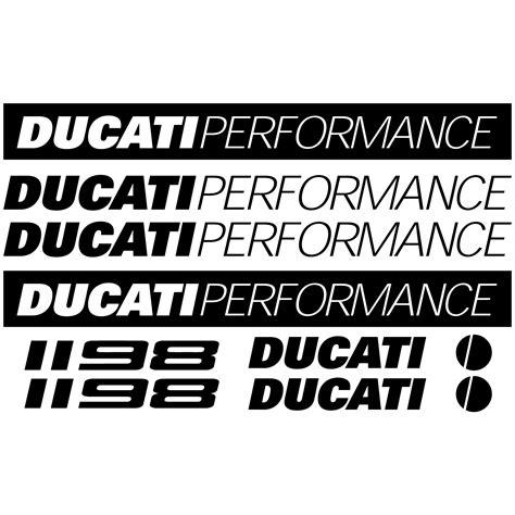 Ducati 1198 Aufkleber by Wandtattoos Folies Ducati 1198 Aufkleber Set