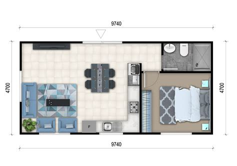 Bedroom Floor Planner by 1 Bedroom Granny Flat Designs 1 Bedroom Granny Flat