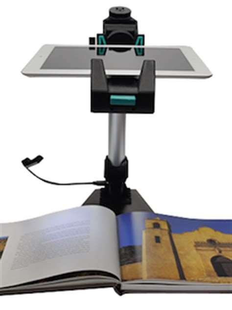 ipad/tablet document camera stand version 2 — learning in
