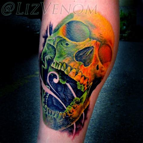 edmonton female tattoo artist best female tattoo artist in edmonton liz venom by