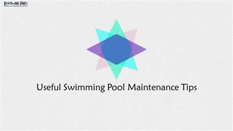 pool maintenance tips useful swimming pool maintenance tips
