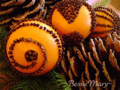 what christmas tree smells like oranges bessiemary simple joys of oranges