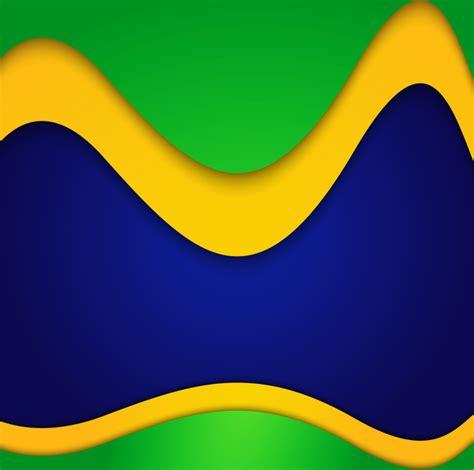 brazil colors beautiful brazil colors concept card colorful background