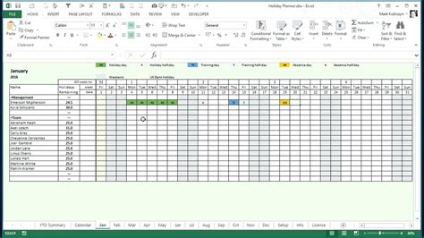 staff annual leave calendar template template annual leave planner template excel