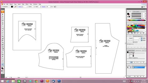 adobe illustrator pattern templates how i draft sewing patterns with my intel aio and adobe