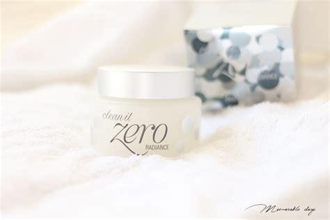 Clean It Zero Radiance Purity Resveratol review banila co clean it zero radiance memorable