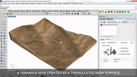 lands design google earth scan and import a terrain from google earth youtube