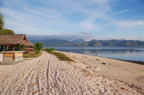 gili islands indonesia trawangan air  meno