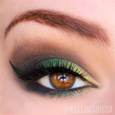 Eyeshadow Green 12 colorful eyeshadow tutorials for beginners makeup tutorials