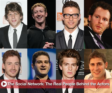 the social cast the social network real people the characters are based