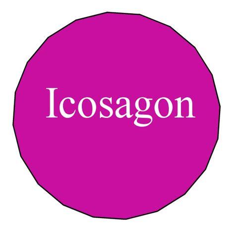 12 Sided Polygon Interior Angles Icosagon