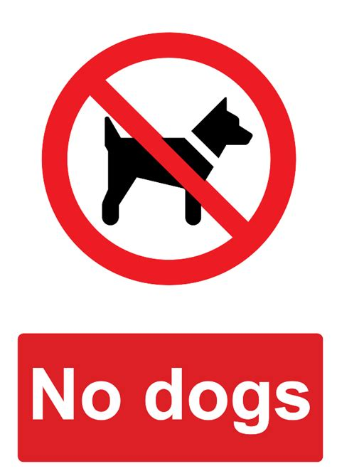 no dogs allowed sign image gallery no dogs sign