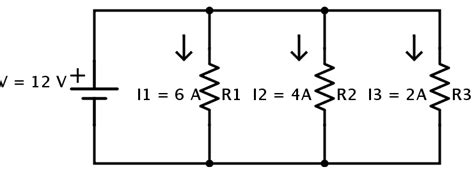 voltage through parallel resistors resistors in parallel equivalent resistance formula