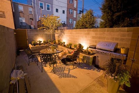 baltimore rowhouse backyard landscaping update