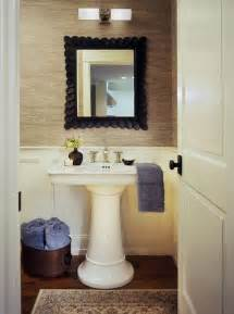 Remodel App traditional powder room with laminate floors by atelier