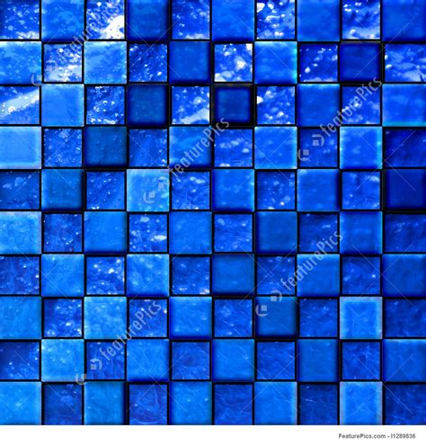Texture abstract bathroom s tiles blue stock illustration i1289836 at featurepics
