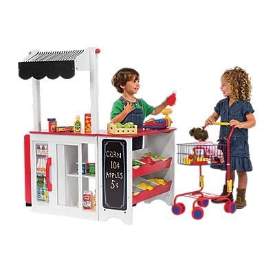 Play Store Toys Let S Play Store Pretend Store Grocery Stand